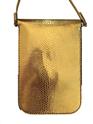Cross Pouch Gem Cell Zzfab Stone Gold2 Body Phone qEYFH