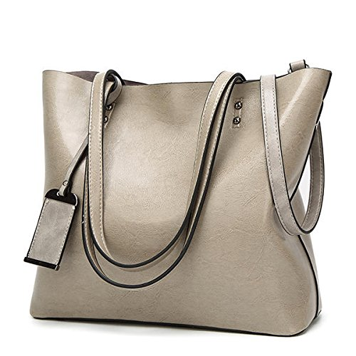 Tradico Women Oil Leather Tote Handbags Vintage Shoulder Bags  Amazon.in   Home   Kitchen 88933c512cff9