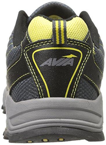Avi Mens Yellow Dusk Dell Shoe AVIA Steel Running Blazing Grey Grey 75v6UdUqB