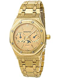Royal Oak Automatic-self-Wind Male Watch 25594BA.OO.0477BA.01 (Certified Pre-Owned)