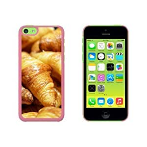 Croissants Bread - French France Paris Snap On Hard Protective For Iphone 6 Plus 5.5 Phone Case Cover - Black