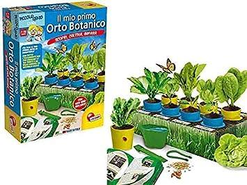 Genio Orto Juegos Pequeño Botanico Mio Primo Lisciani Il Juguete nk0OwN8PX