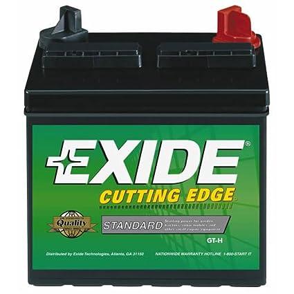 exide small enginegarden tractor battery - Garden Tractor Battery
