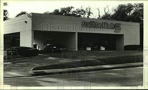 Vintage Photos 1988 Press Photo Drive Through Lanes at South Trust Bank in Alabama - amra03528