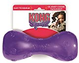 KONG Squeezz Dumbbell Dog Toy, Large, Colors Vary