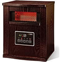 Infrared 4-Element Quartz Electric Room Heater with Remote 1500 watt