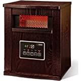 Infrared 4-Element Quartz Electric Room Heater with Remote 1500 watt For Sale