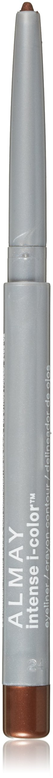 Almay intense i-color Eyeliner, Bring Out the Blue, Brown Topaz 002, 0.009-Ounce Packages (Pack of 2)