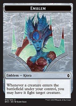 the Crashing Wave Emblem Kiora Born of the Gods