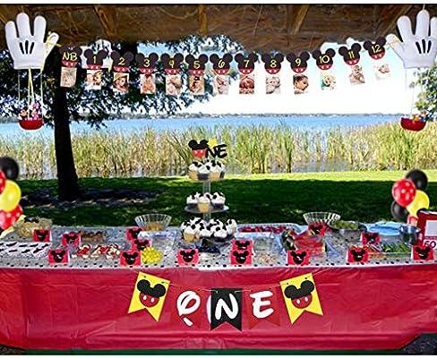 Admirable Mickey Mouse 1St Birthday Mickey Mouse Birthday Banner Mickey 1St Funny Birthday Cards Online Alyptdamsfinfo