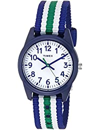Boys TW7C10000 Time Machines Blue/Green/White Stripes...