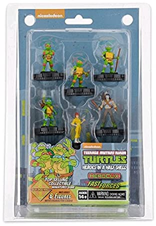 Heroclix Tortugas Ninja Set 2 - Fast Forces: Amazon.es ...