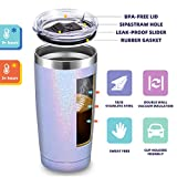 20oz Stainless Steel Tumbler with Lid and