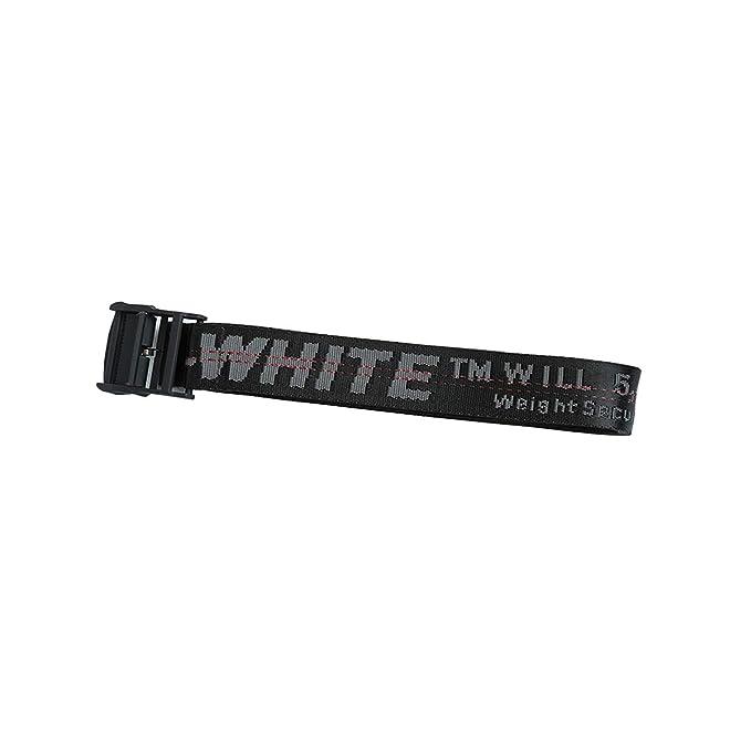 prezzo interessante completo nelle specifiche risparmia fino al 60% off white INDUSTRIAL belt yellow designer belts black buckle waist belts  200cm(Black)