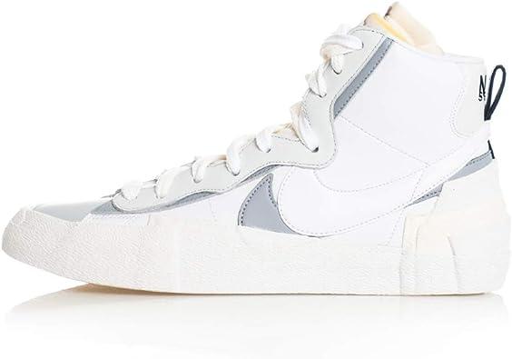 Nike Mens Blazer Mid/SACAI White/Wolf