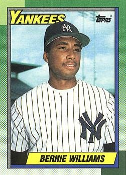 Amazoncom 1990 Topps Baseball 701 Bernie Williams Rookie