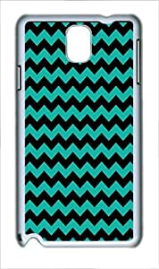 Best Samsung Galaxy Note 3 Cases - Navy Anchor Background Polycarbonate Plastic Hard Case Cover for Samsung Galaxy Note 3 Note III N9000 White