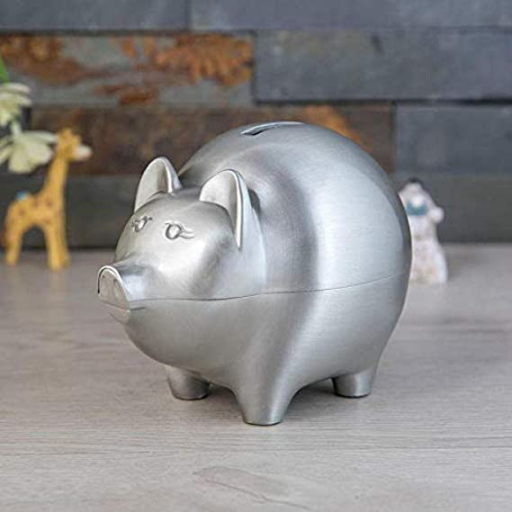 Yadianna Decorations Art Craft Childrens Money Bank Money can only Enter