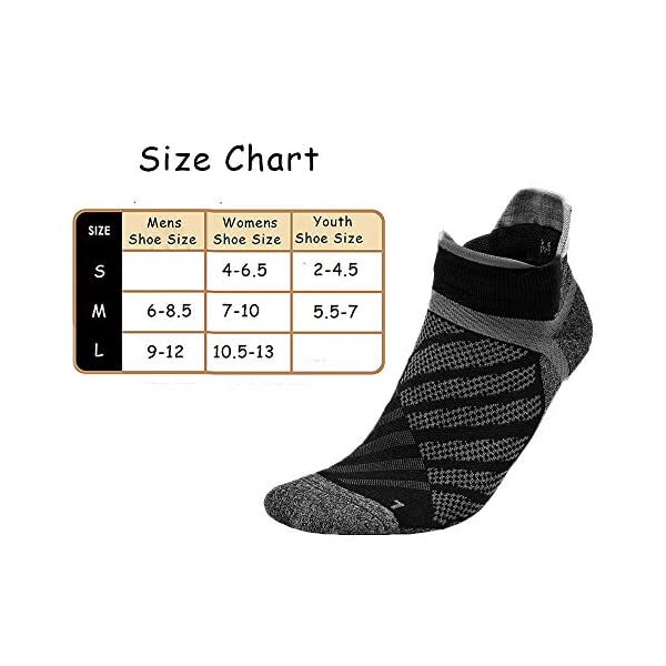 Toes&Feet Men's Antibacterial Thin Quick-Dry Ankle Compression Running Socks