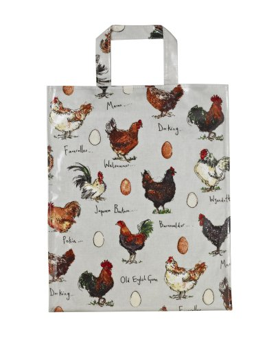 Ulster Weavers Madeleine Floyd Chicken and Egg PVC Bag, Medium (Chicken Egg Bag)