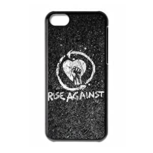 MMZ DIY PHONE CASEGators Florida USA Music Band 3 Rise Against Print Black Case With Hard Shell Cover for Apple iphone 6 plus 5.5 inch