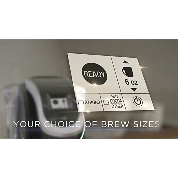 Keurig K250 Coffee Maker, Single Serve K-Cup Pod Coffee Brewer, With Strength Control, Oasis 4
