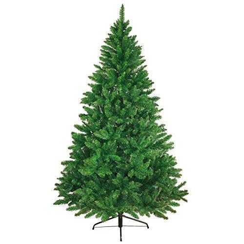 Christbaum künstlicher Weihnachtsbaum Tannenbaum WONDERLAND in 5 Größen und 3 Farben von BB Sport, Farbe:mittelgrün;Höhe:120 cm (360 Spitzen)