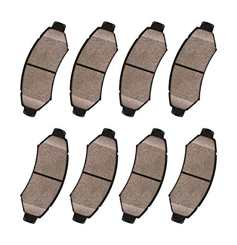 2010 Kia Models - FREZO Front & Rear Ceramic Brake Pads Set of 8 for Kia Forte Koup 2010-2013 - 2.0L Models, Kia Forte 2010-2013 - 2.0L Models FRECD1397+RXCD1157