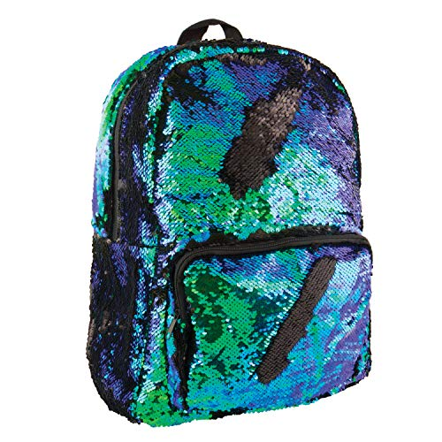 (Style.Lab by Fashion Angels Magic Sequin Backpack - Mermaid/Black)
