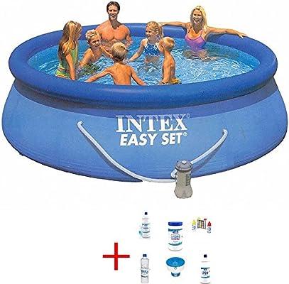 Intex 28180 oferta piscina Easy Set 457 x 84 Pool cm con bomba ...