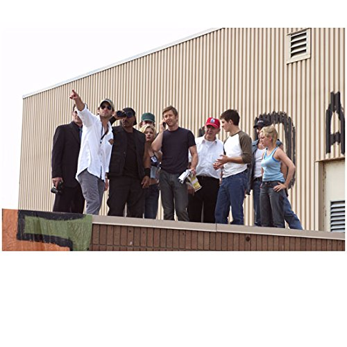 Genesis of the Dead cast on rooftop with Zack Snyder 8 x 10 Inch Photo