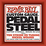 Ernie Ball Pedal Steel Nickel Wound 10-String Set, E9 Tuning