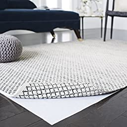 Safavieh Padding Collection PAD125 White Area Rug, 8 feet by 10 feet (8\' x 10\')