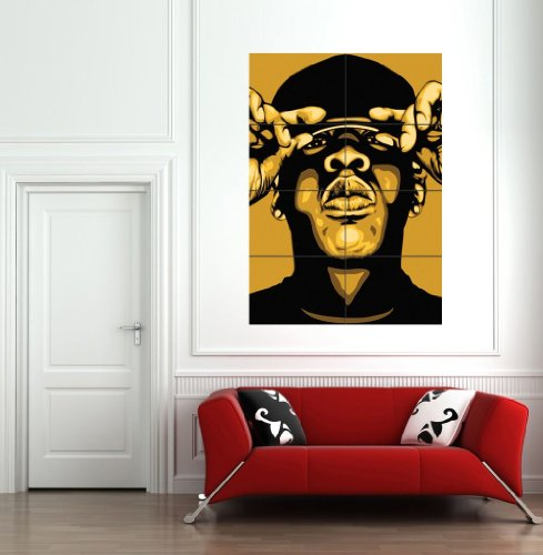 Jay Z Giant Wall Poster Picture