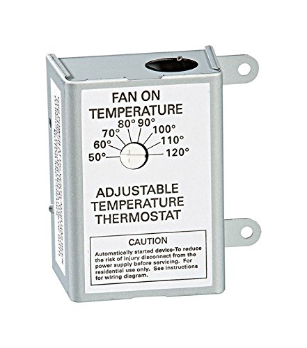 - AIR VENT 58033 Single Speed Adjustable Thermostat