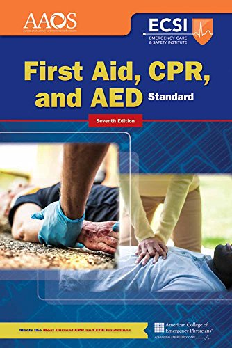 Emergency First Aid Cpr - Standard First Aid, CPR, and AED