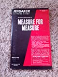 Monarch Notes on Shakespeare's Measure for Measure, Unicio J. Violi, 0671006363