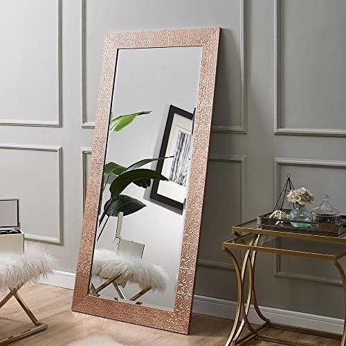 "Naomi Home Mosaic Style Mirror Rose Gold/65.5"" x 31.5"""