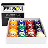Deluxe Pool Table Billiards Balls - 16 Pc Set
