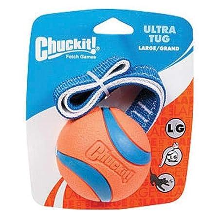 231301 Ultra Tug Pelota para Perros L Chuckit Compatible con el Lanzador
