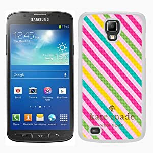 customized Samsung Galaxy S4 Active Case Cover, Fashion Stylish DIY Kate Spade 63 White Case Cover For Samsung Galaxy S4 Active i9295
