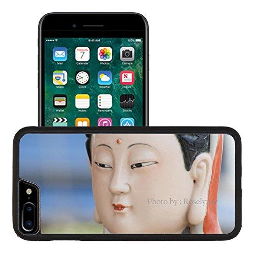 Liili Apple iPhone 7 plus iPhone 8 plus Aluminum Backplate Bumper Snap iphone7plus/8plus Case Traditional Colorful porcelain Chinese Goddess (Goddess Porcelain)