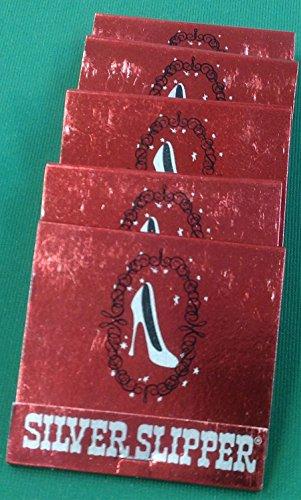 5 Silver Slipper Casino (closed) Las Vegas collectible matchbooks Closed Las Vegas Casino