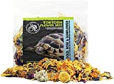 Komodo New Complementary Dried Food-TortoiseFlower Mix 60g -Tortoises/Bearded Dragons/Chuckwallas/Uromastyx Lizards