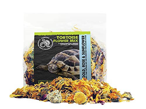 Komodo New Complementary Dried Food-TortoiseFlower Mix 60g