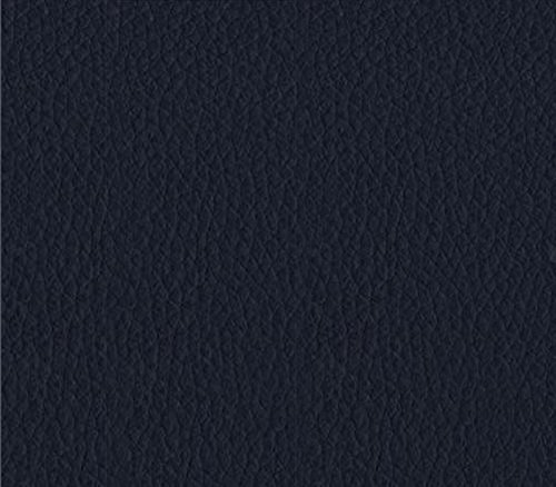 Vinyl Fabric Champion NAVY BLUE Fake Leather Upholstery / 54