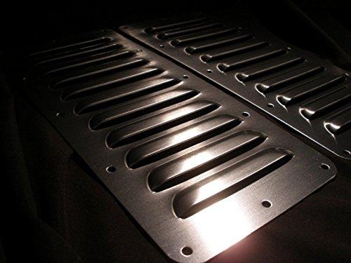 RodLouvers Pair of Straight Aluminum 5