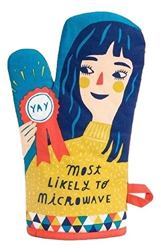 Blue Q Most Likely to Microwave Oven Mitt by Blue Q (Image #1)