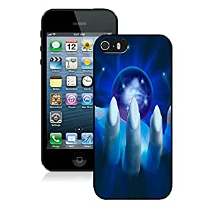 Popular Designed Case With The Evil Sphere Cover Case For iPhone 5S Black Phone Case CR-619