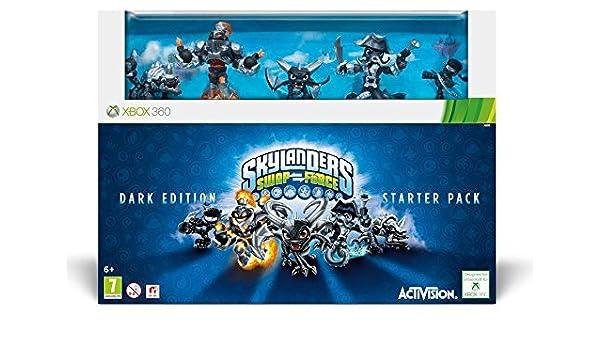 XBOX 360 Skylanders Swap Force Starter Pack DARK EDITION Collector Pack: Amazon.es: Juguetes y juegos